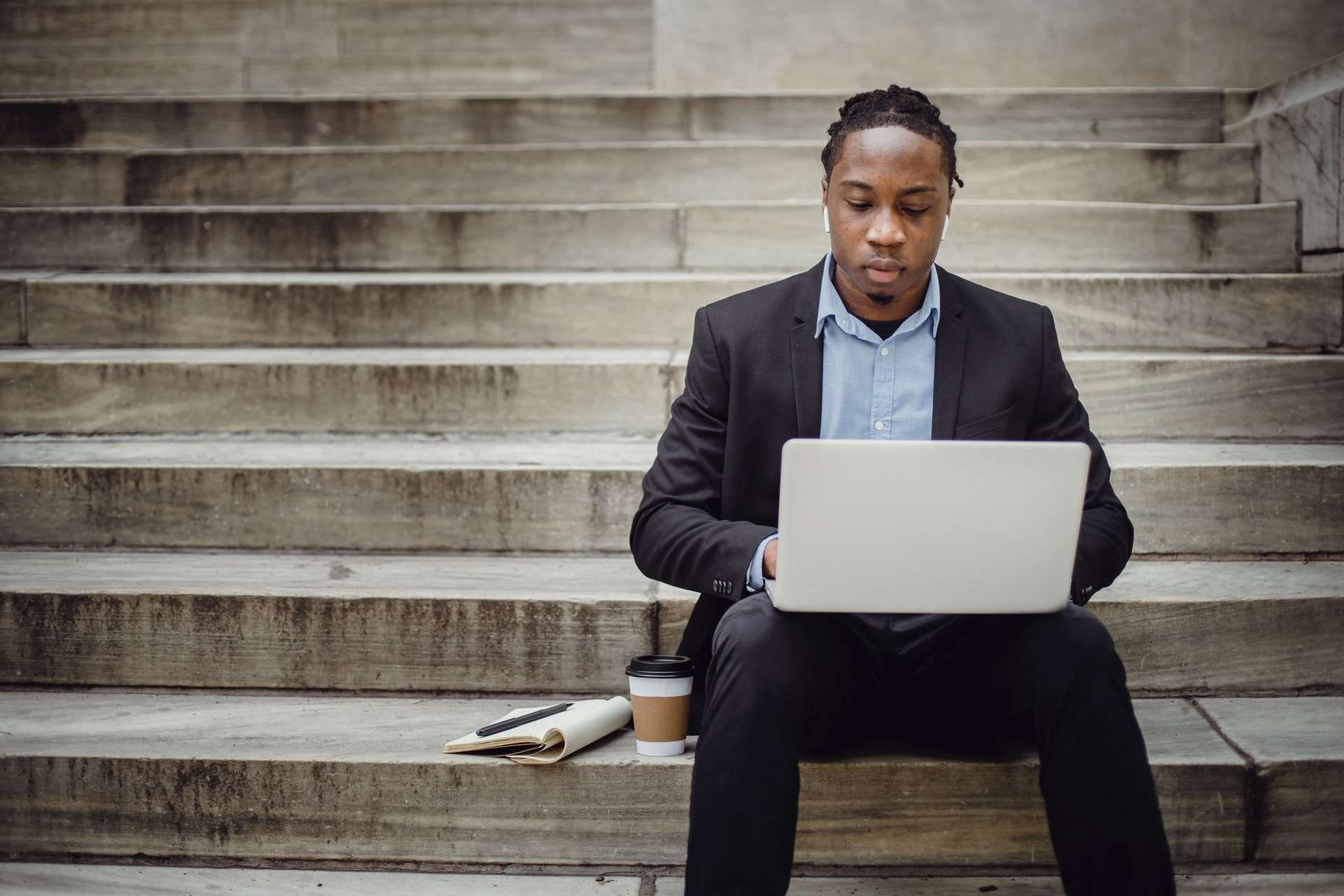 Black Adult learning to code